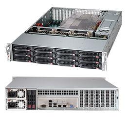 Корпус SuperMicro CSE-826BE16-R1K28LPB 2x1280W черный