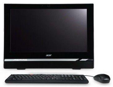 Моноблок ACER Aspire Z1620, Intel Pentium G2020, 4Гб, 500Гб, nVIDIA GeForce 605 - 1024 Мб, DVD-RW, Windows 8, черный и серебристый [dq.smaer.016]
