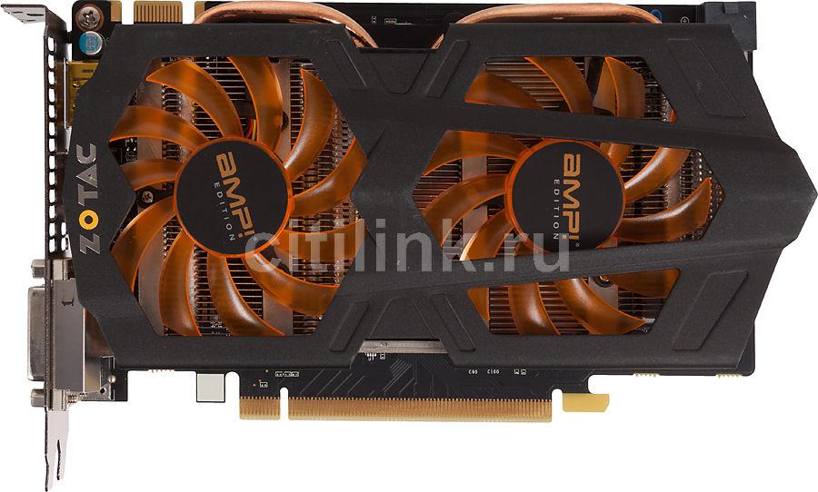 Видеокарта ZOTAC GeForce GTX 660,  2Гб, GDDR5, OC,  Ret [zt-60902-10m]