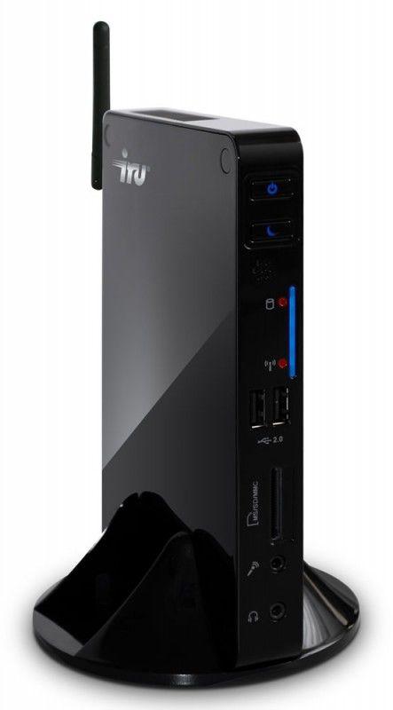 Неттоп  IRU 122,  Intel  Atom  D2500,  4Гб, 500Гб,   GMA 3600,  CR,  Windows 7 Professional