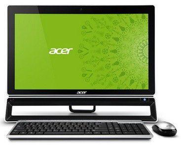 Моноблок ACER Aspire ZS600t, Intel Core i5 3330S, 6Гб, 1000Гб, nVIDIA GeForce GT640 - 4096 Мб, DVD-RW, Windows 8, черный [dq.slter.018]