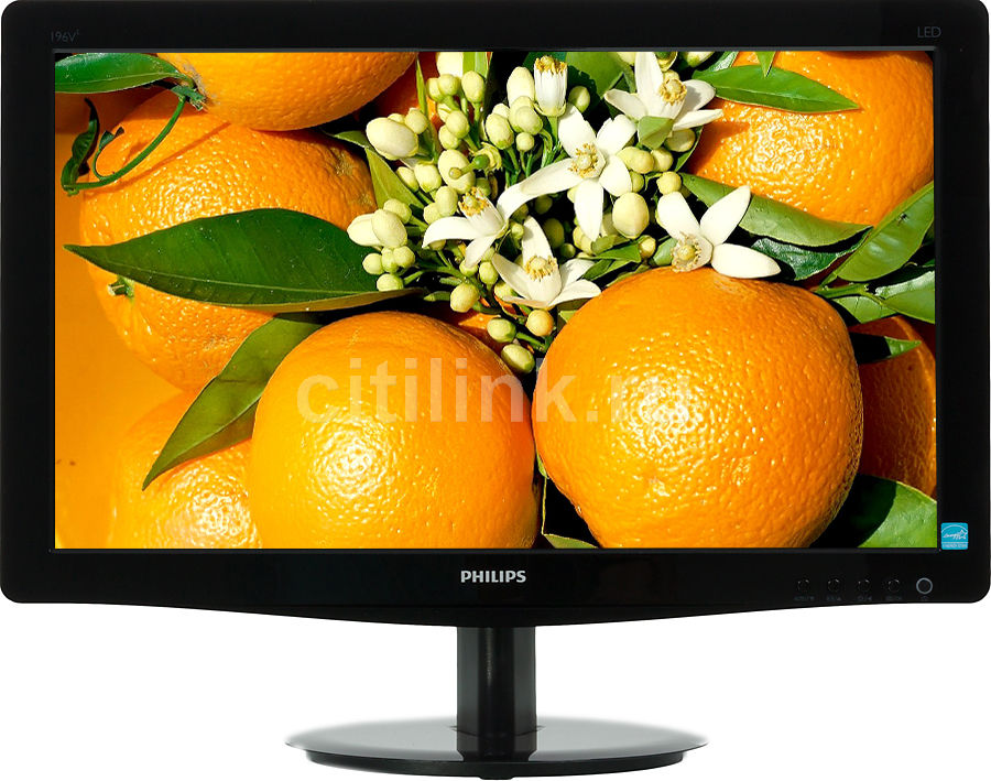Монитор ЖК PHILIPS 196V3LSB5 (10/62) 18.5