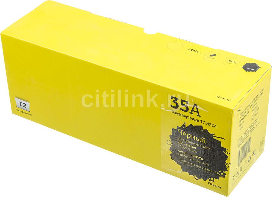 Картридж T2 CB435A черный [tc-h35a]