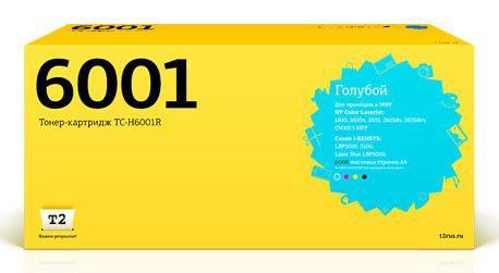 Картридж T2 Q6001A голубой [tc-h6001r]