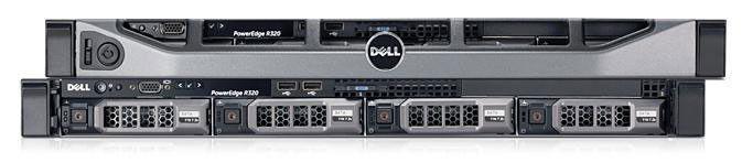 """Сервер Dell PE R320 E5-1410 2.80/1x8GB 2R RD 1.6K/SAS 2x300GB 15k 3.5""""/H310/RW/iDR7En+PC/PSU/3YBNBD [203-19432]"""