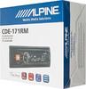 Автомагнитола ALPINE CDE-171RM,  USB вид 6