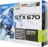 Видеокарта MSI GeForce GTX 670,  2Гб, GDDR5, Ret [n670 tf 2gd5] вид 7
