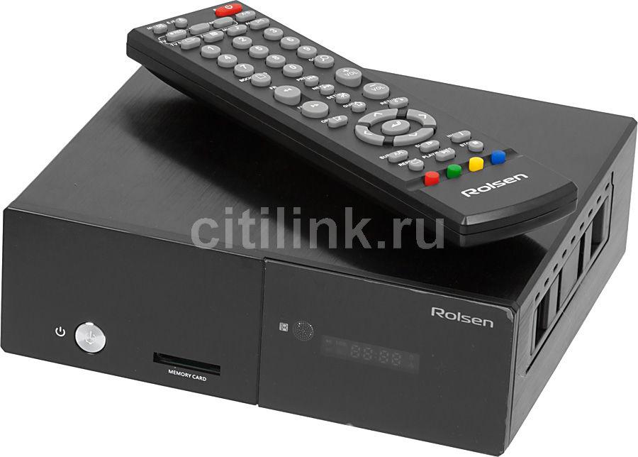 Медиаплеер ROLSEN FHD-M300,  черный