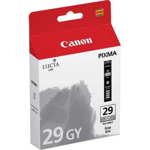 Картридж CANON PGI-29GY серый [4871b001]