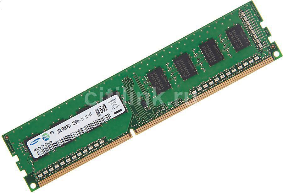 Модуль памяти SAMSUNG DDR3 -  2Гб 1600, DIMM,  OEM,  original