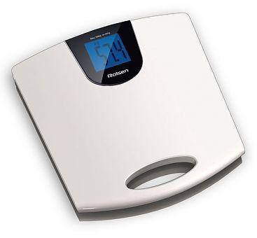 Напольные весы ROLSEN RSL1514, до 150кг, цвет: белый