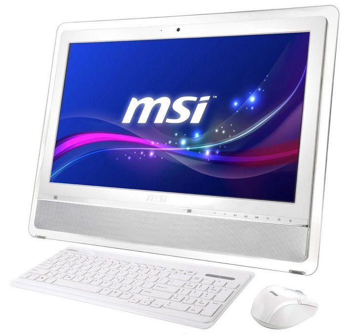 Моноблок MSI AE2410G-234, Intel Core i5 2450M, 4Гб, 1000Гб, nVIDIA GeForce GT630M - 1024 Мб, DVD-RW, Windows 7 Home Premium, белый и серебристый [9s6-ae3212-234]