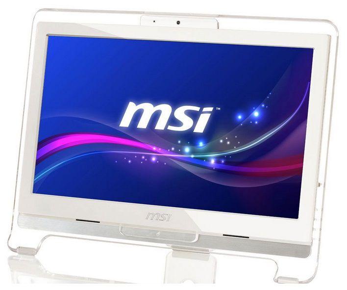 Моноблок MSI AE1941-011, Intel Celeron 847, 4Гб, 320Гб, Intel HD Graphics, DVD-RW, Free DOS, белый [9s6-a92812-011]