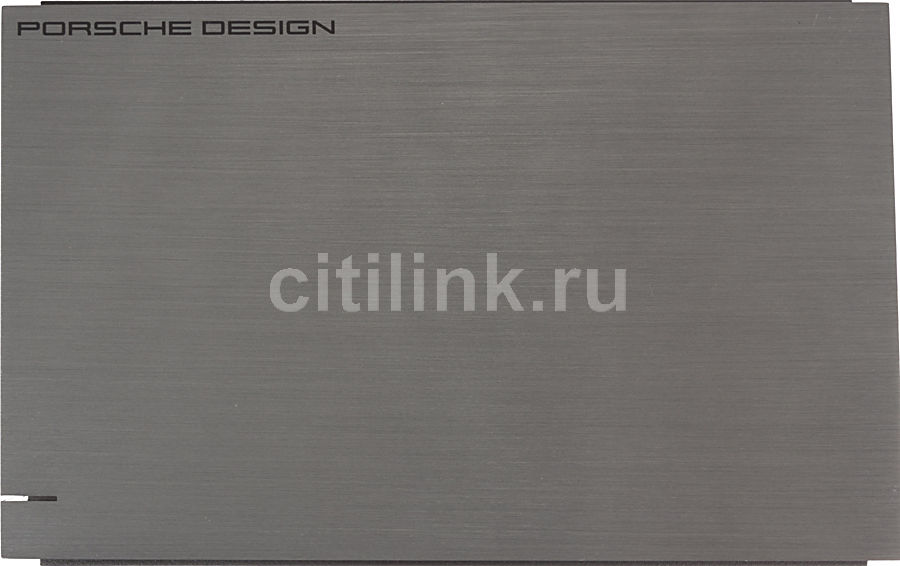 Внешний жесткий диск LACIE Porsche Design 9000384EK, 4Тб, серебристый