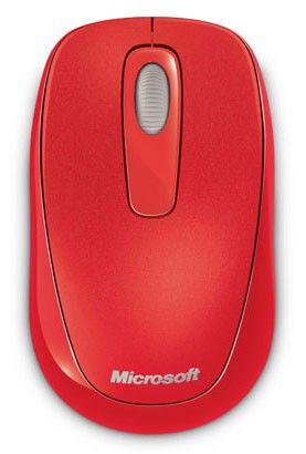 Мышь MICROSOFT 1000 оптическая беспроводная USB, оранжевый [2cf-00040]