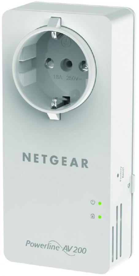 Сетевой адаптер PowerLine NETGEAR XAU2511 Ethernet [xau2511-100pes]