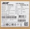 """Монитор ЖК ACER V206HQLBb 19.5"""", черный [um.iv6ee.b02] вид 11"""
