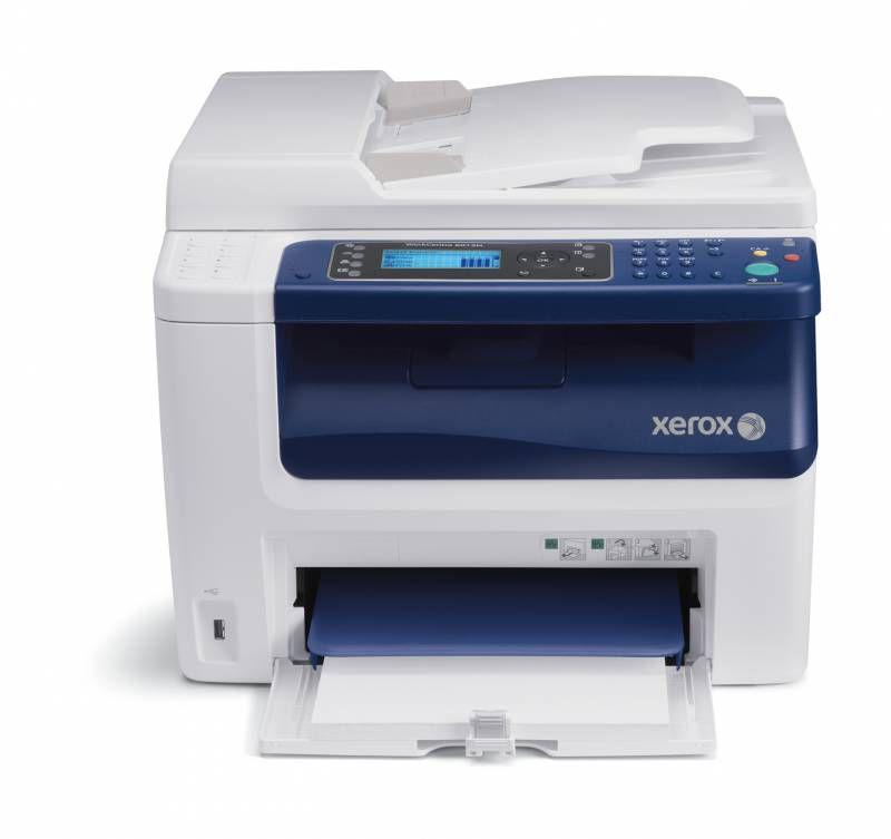 МФУ XEROX WorkCentre 6505,  A4,  цветной,  лазерный,  белый [6505v_n]