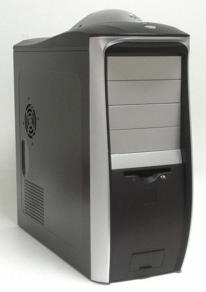 Корпус ATX LINKWORLD F3131, 430Вт,  черный и серебристый