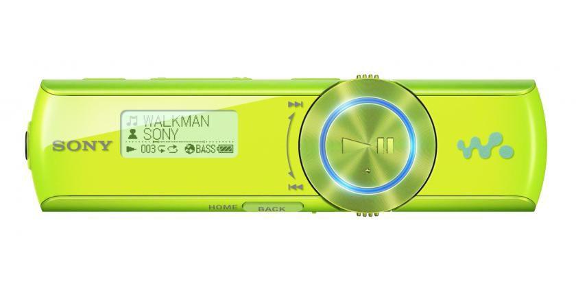 MP3 плеер SONY NWZ-B173F flash 4Гб зеленый [nwzb173fgi.cev]