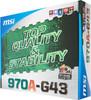 Материнская плата MSI 970A-G43 Soc-AM3+ AMD970 DDR3 ATX AC'97 8ch GbLAN SATA3 RAID (отремонтированный) вид 6