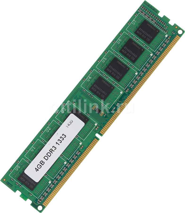 Модуль памяти SAMSUNG DDR3 -  4Гб 1333, DIMM,  OEM