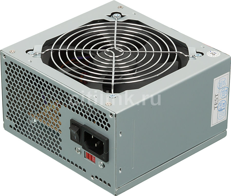 Блок питания Gigabyte ATX 350W GZ-EBN35N-C3 (24+4+4pin) 3*SATA I/O switch (отремонтированный)