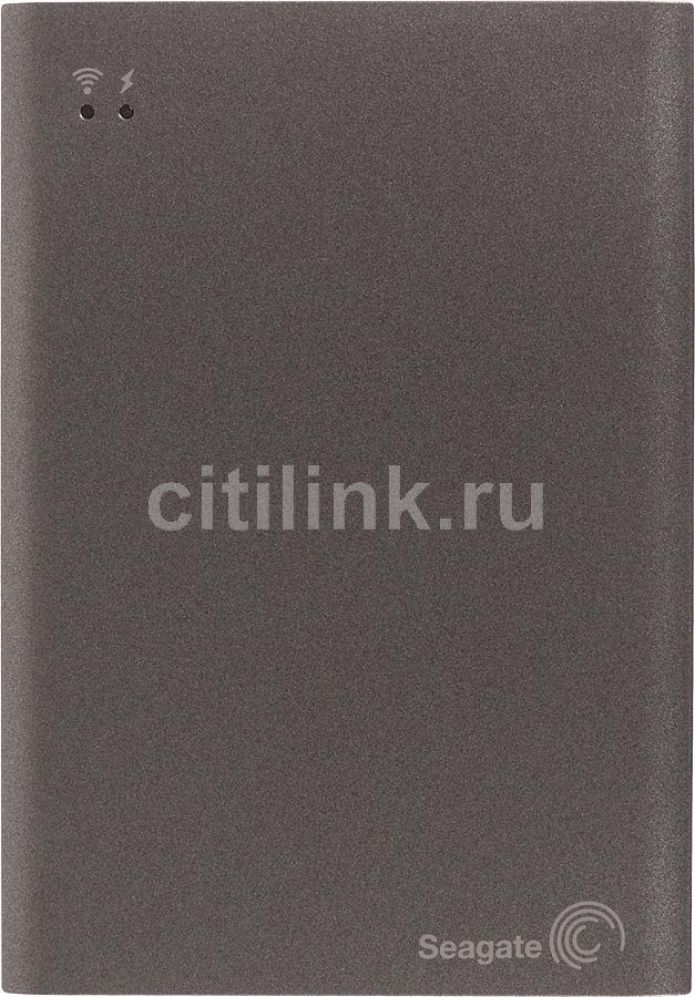 Внешний жесткий диск SEAGATE Wireless Plus STCK1000200, 1Тб, серый