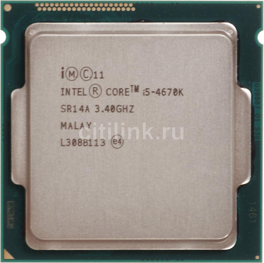 Процессор INTEL Core i5 4670K, LGA 1150 * OEM [cm8064601464506s r14a]