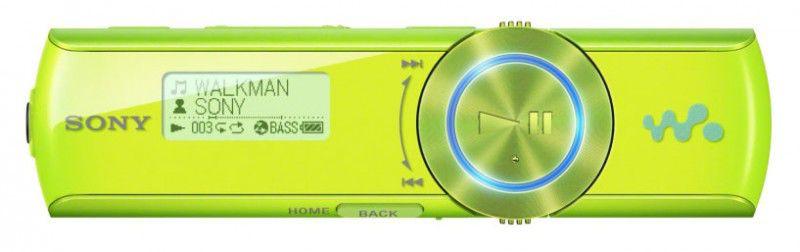 MP3 плеер SONY NWZB172FGI flash 2Гб зеленый [nwzb172fgi.cev]
