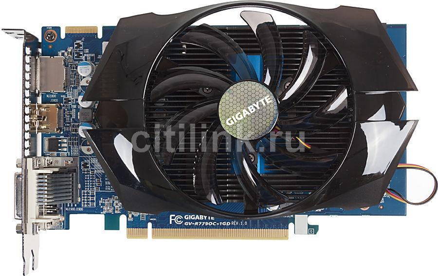 Видеокарта GIGABYTE Radeon HD 7790,  GV-R779OC-1GD,  1Гб, GDDR5, OC,  Ret