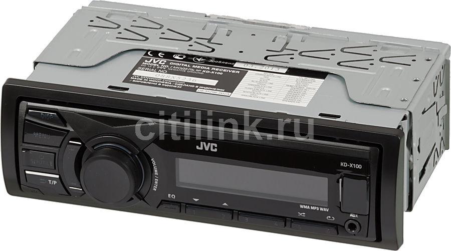 Автомагнитола JVC KD-X100EE,  USB
