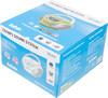 Аудиомагнитола BBK BX108U,  белый и серый вид 10