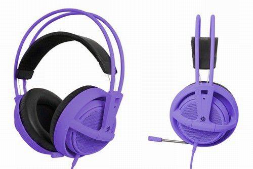 Гарнитура SteelSeries Siberia v2 full-size Purple 51124 комплект профессиональный игровой