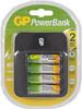 Аккумулятор + зарядное устройство GP PowerBank PB550GS250,  4 шт. AA,  2450мAч вид 1