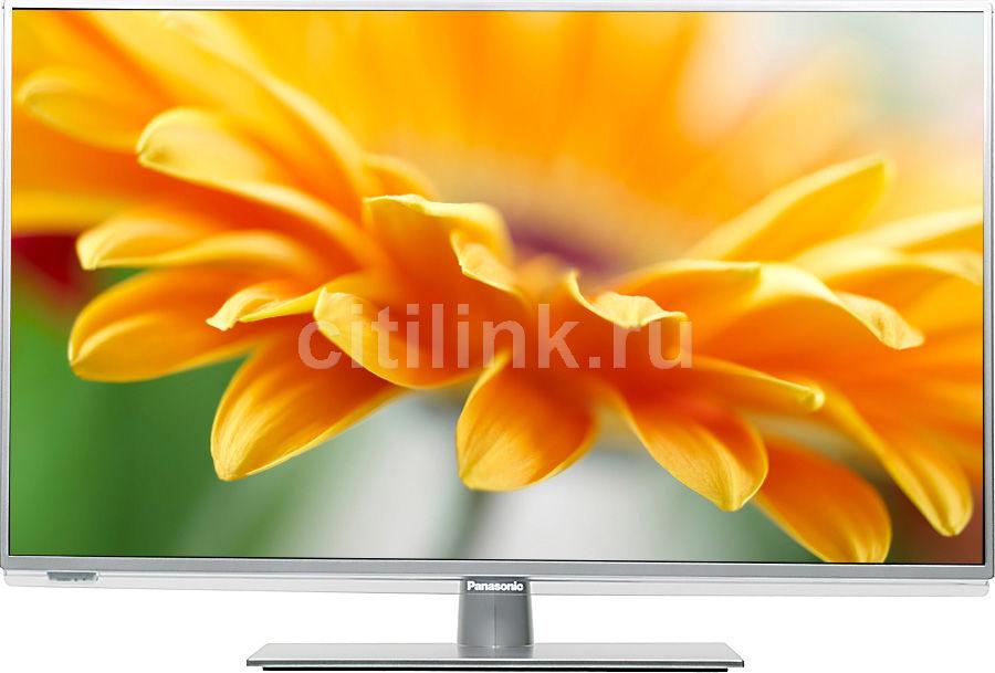 "LED телевизор PANASONIC Smart VIERA TX-LR32E6  32"", FULL HD (1080p),  серебристый"