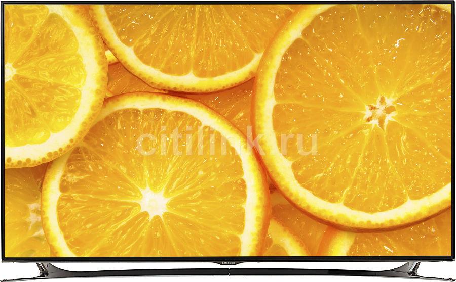"LED телевизор SAMSUNG UE40F8000AT  ""R"", 40"", 3D,  FULL HD (1080p),  черный/ серебристый"