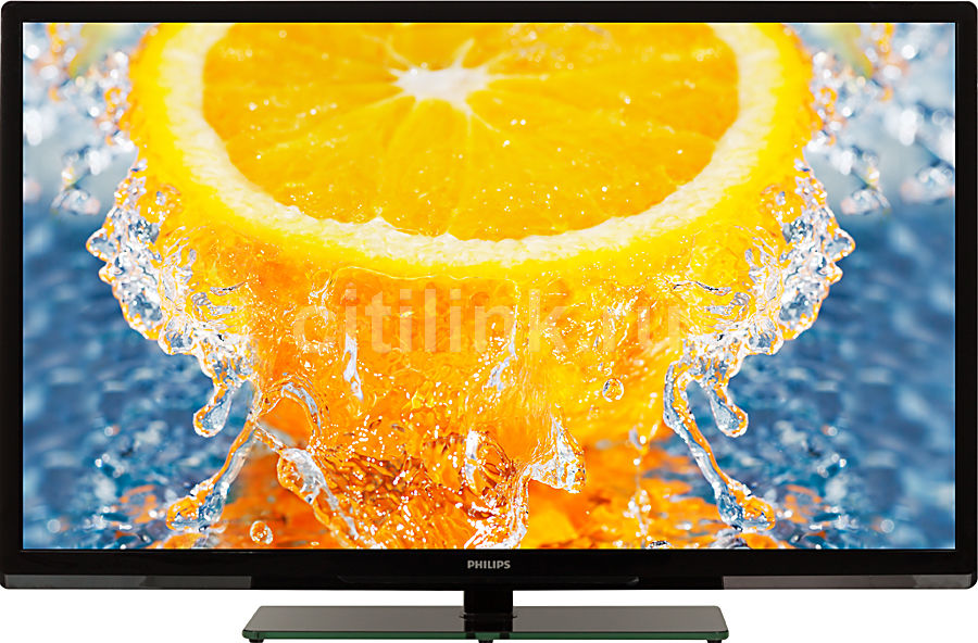 "LED телевизор PHILIPS 40PFL3108T/60  ""R"", 40"", FULL HD (1080p),  черный"