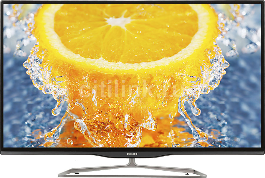"LED телевизор PHILIPS 42PFL5008T/60  ""R"", 42"", 3D,  FULL HD (1080p),  серый"
