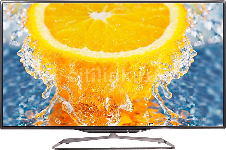 "LED телевизор PHILIPS 46PFL8008S/60  46"", 3D,  FULL HD (1080p),  серебристый"