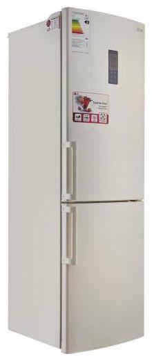Холодильник LG GA-B439YEQA,  двухкамерный,  бежевый