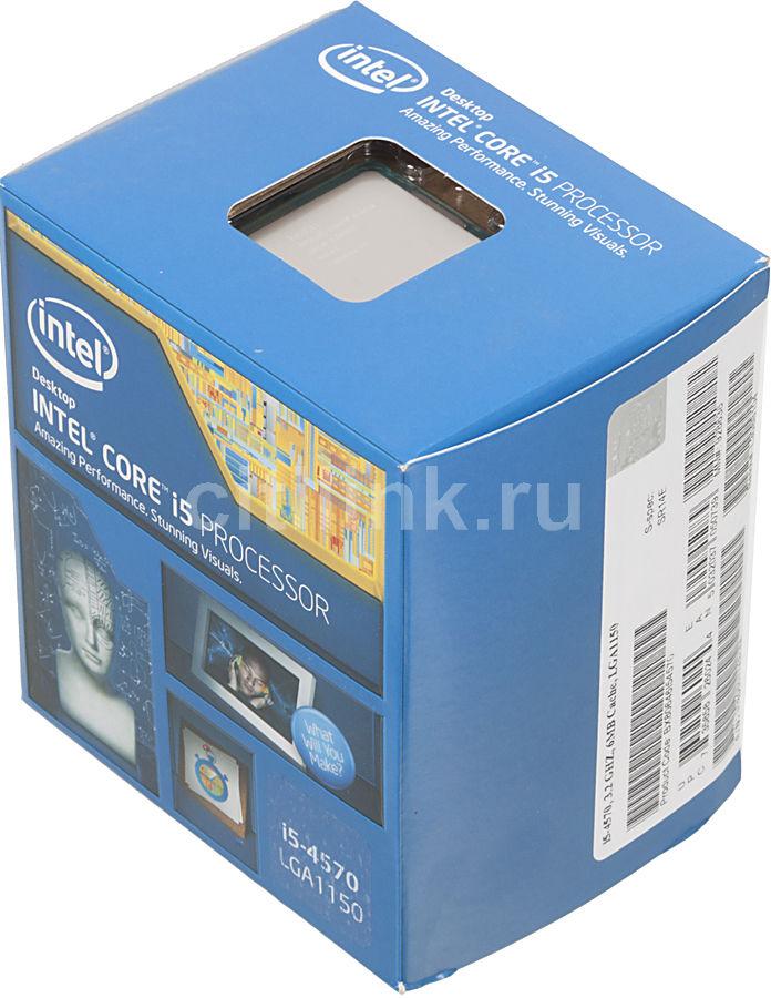 Процессор INTEL Core i5 4570, LGA 1150 BOX [bx80646i54570 s r14e]