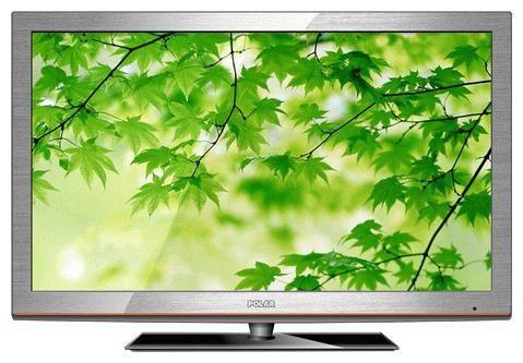 "LED телевизор POLAR 66LTV7006  ""R"", 26"", HD READY (720p),  серебристый"
