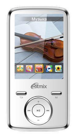 MP3 плеер RITMIX RF-7650 flash 4Гб белый [15114942]
