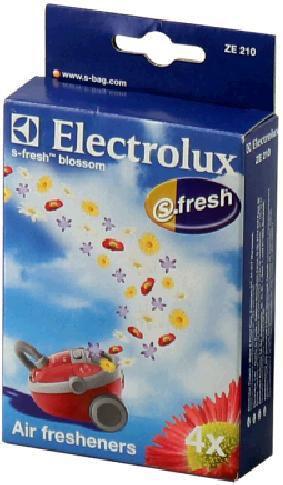 Ароматизатор ELECTROLUX ZE210,  4 шт., для пылесосов