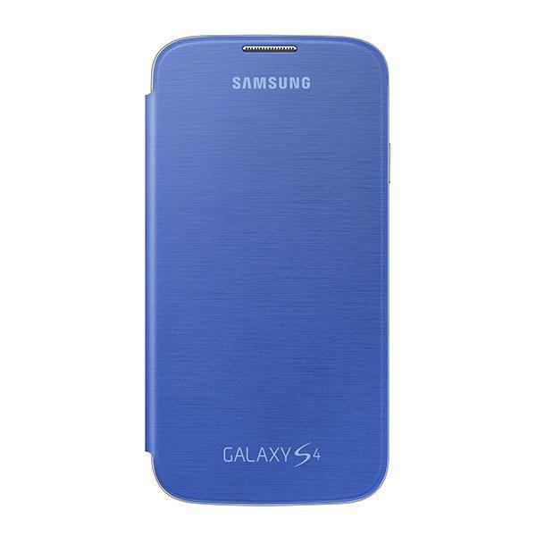 Чехол (флип-кейс) SAMSUNG EF-FI950BCE, для Samsung Galaxy S4, голубой [ef-fi950bcegru]