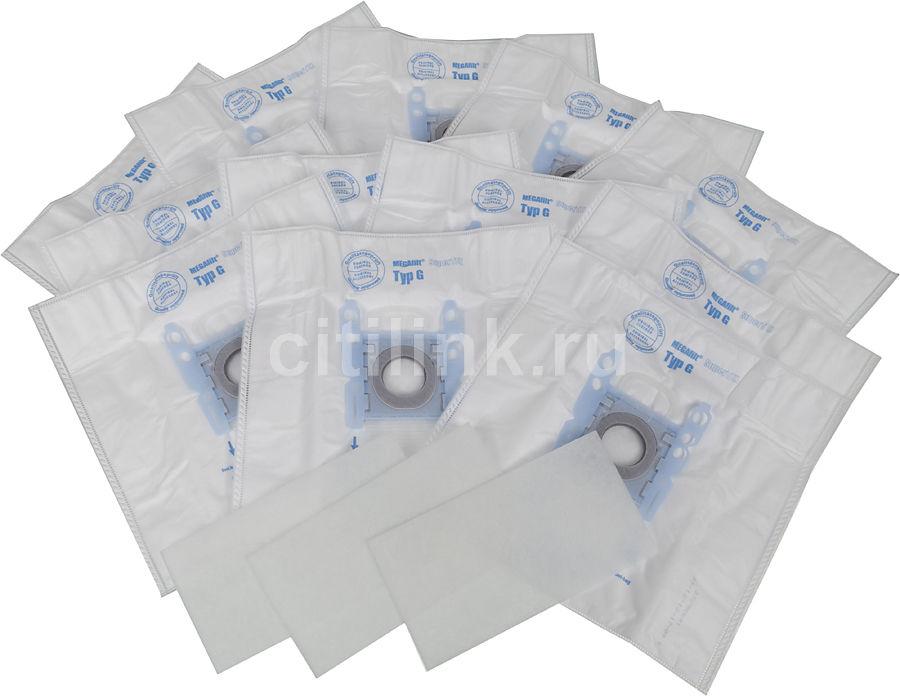 Пылесборники BOSCH BBZ123FGI,  трехслойные,  12 шт., для пылесосов BOSCH, SIEMENS,  три микрофильтра