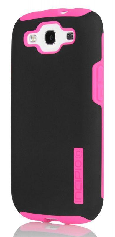 Чехол (клип-кейс) INCIPIO SILICRYLIC DualPro, для Samsung Galaxy S III, черный [sa-303]