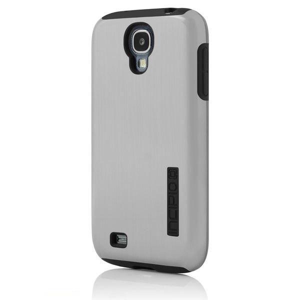Чехол (клип-кейс) INCIPIO DualPro Shine, для Samsung Galaxy S4, серебристый [sa-379]