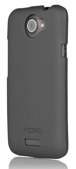 Чехол (клип-кейс) INCIPIO Feather (HT-282), для HTC One X, серый